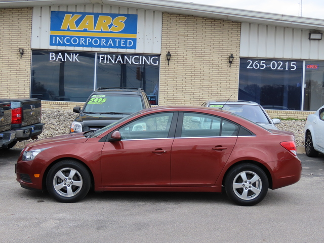 2012 Chevrolet Cruze LT w/1FL  - C64776D  - Kars Incorporated - DSM