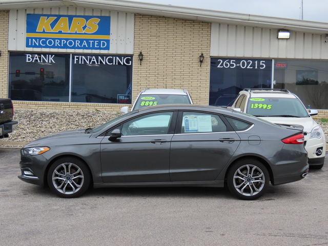 2017 Ford Fusion SE AWD  - H79527  - Kars Incorporated - DSM