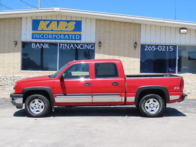 2005 Chevrolet Silverado 1500 Z71 4WD Crew Cab  - 547249D  - Kars Incorporated - DSM