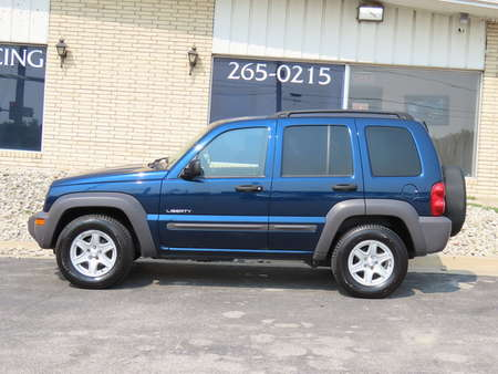 2004 Jeep Liberty SPORT 4WD for Sale  - 499029  - Kars Incorporated - DSM
