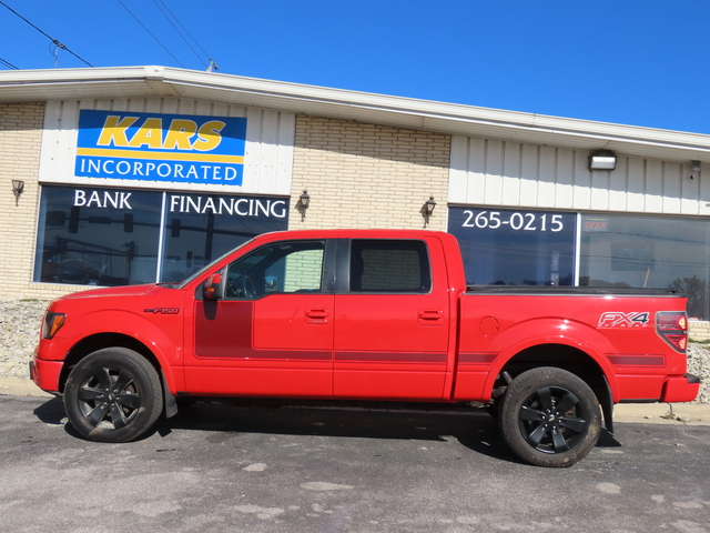 2012 Ford F-150 SUPERCREW 4WD  - C78154D  - Kars Incorporated - DSM