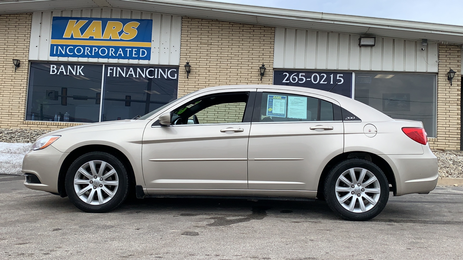 2014 Chrysler 200 TOURING  - E95524D  - Kars Incorporated - DSM