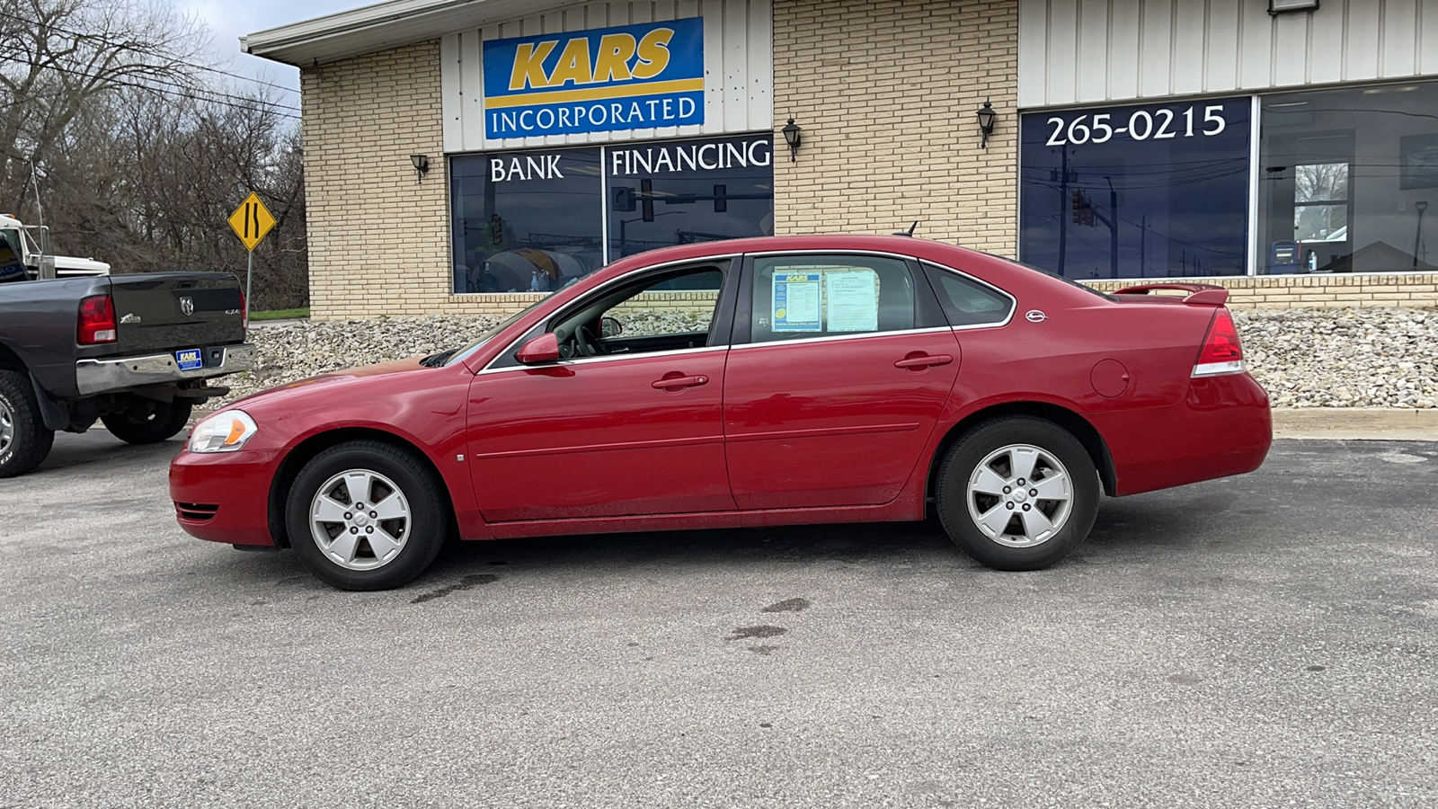2008 Chevrolet Impala LT  - 813617D  - Kars Incorporated - DSM