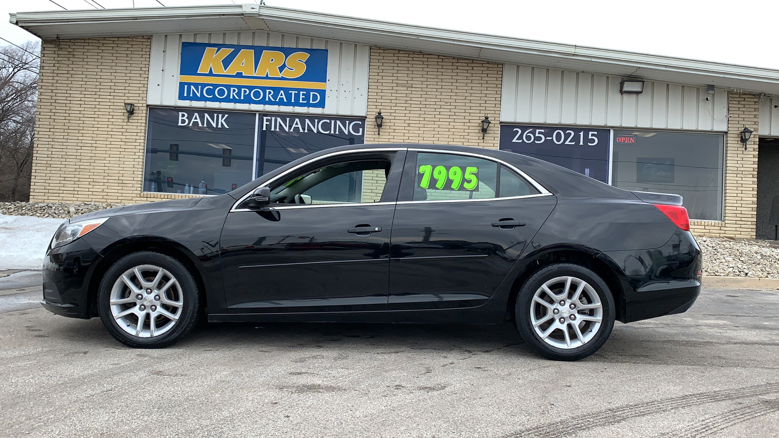 2013 Chevrolet Malibu 1LT  - D03380D  - Kars Incorporated - DSM
