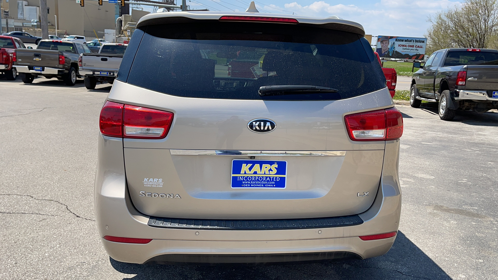 2016 Kia Sedona  - Kars Incorporated - DSM