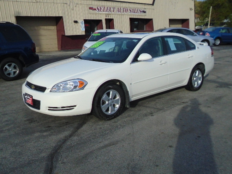 2008 Chevrolet Impala LT  - 10430  - Select Auto Sales