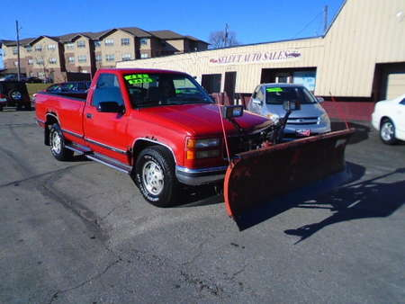 1995 GMC Sierra 1500 4x4 for Sale  - 8171A  - Select Auto Sales