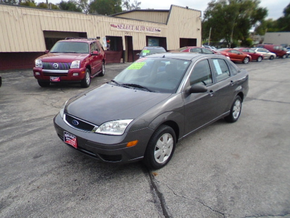 2007 Ford Focus ZX4 SE  - 10265  - Select Auto Sales