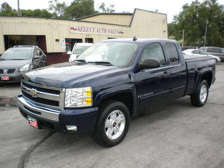 2009 Chevrolet Silverado 1500 Extended Cab LT 4X4 for Sale  - 10033  - Select Auto Sales