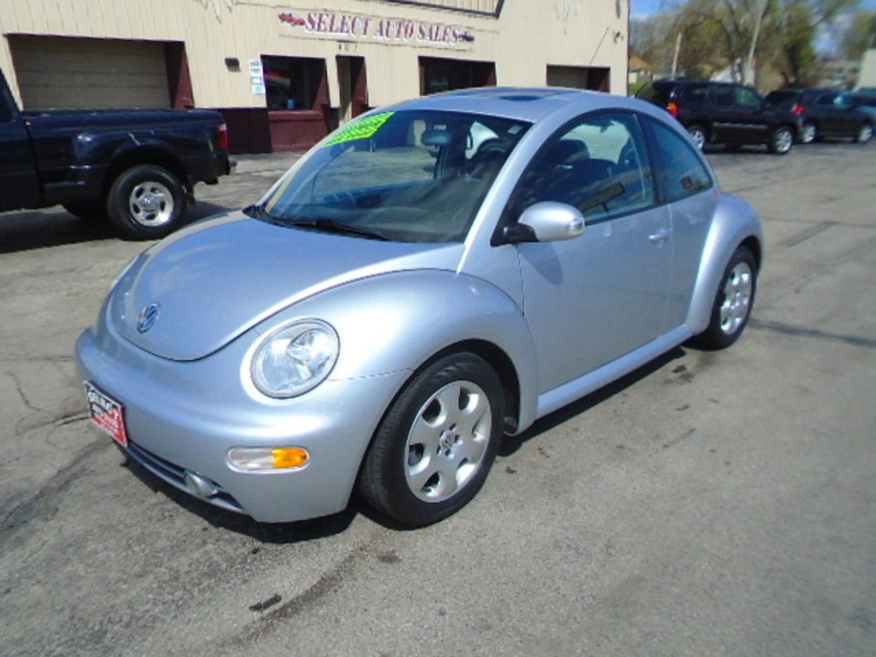 2003 Volkswagen Beetle GLS  - 10516  - Select Auto Sales