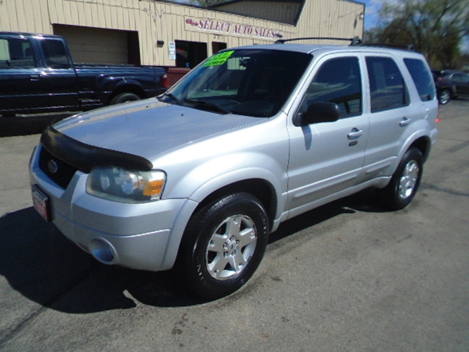 2007 Ford Escape Limited 4WD  - 10517  - Select Auto Sales