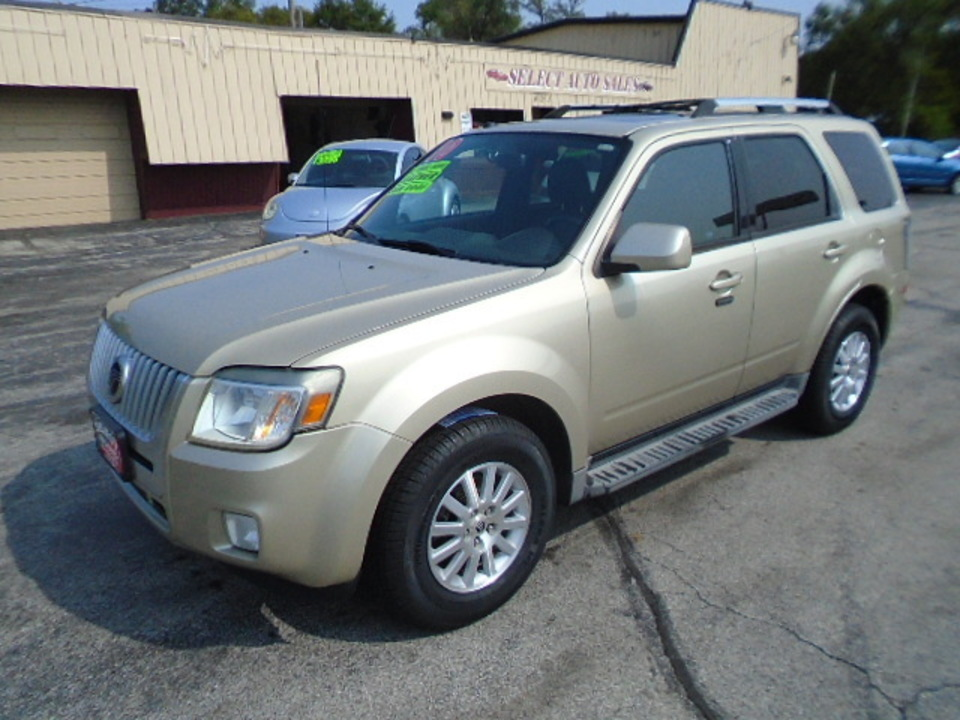 2010 Mercury Mariner 4WD Premier  - 10418  - Select Auto Sales