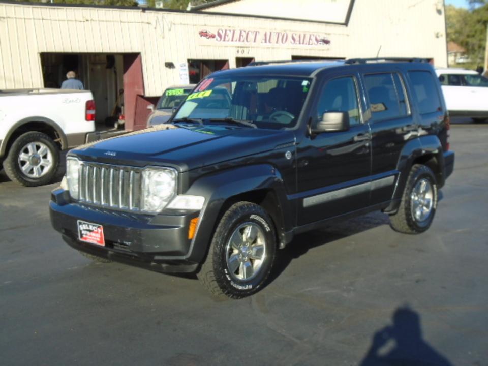 2010 Jeep Liberty Sport 4X4  - 10637  - Select Auto Sales