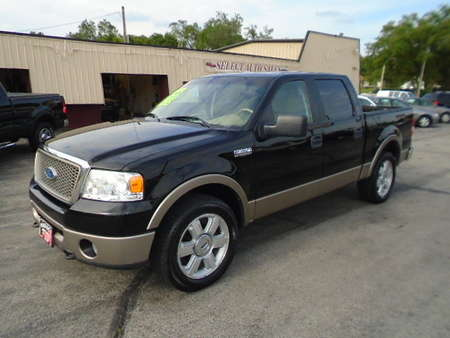 2006 Ford F-150 Crew Cab Lariat 4X4 for Sale  - 10203  - Select Auto Sales
