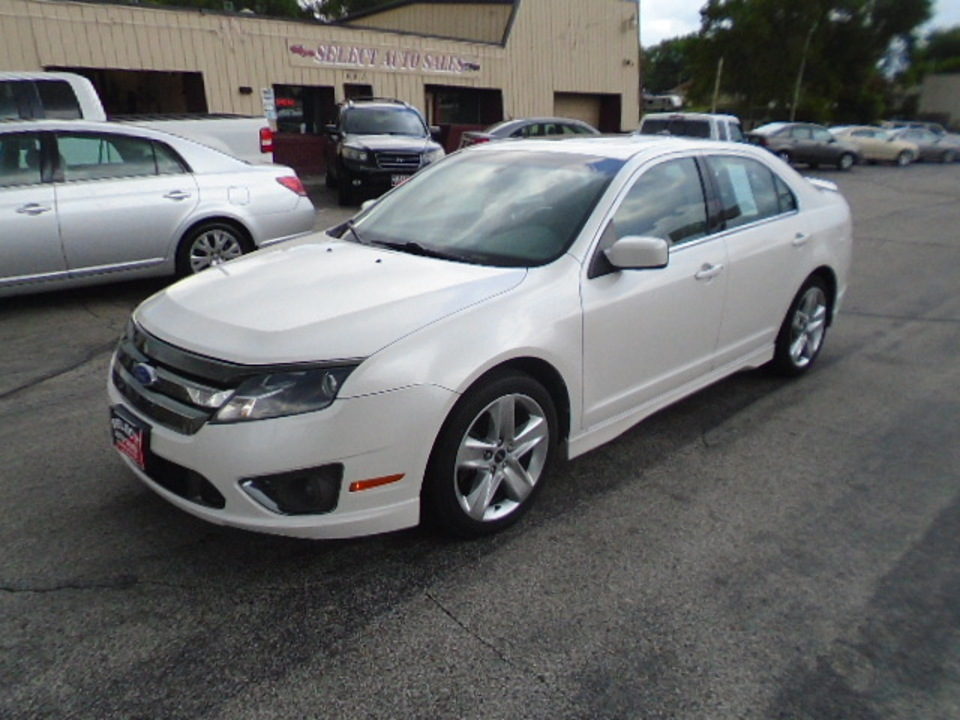 2012 Ford Fusion Sport  - 10370  - Select Auto Sales