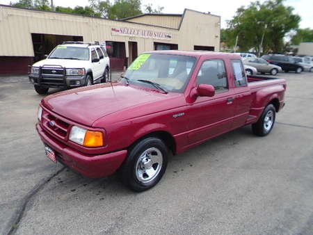 1995 Ford Ranger Super Cab Step Side for Sale  - 10206  - Select Auto Sales