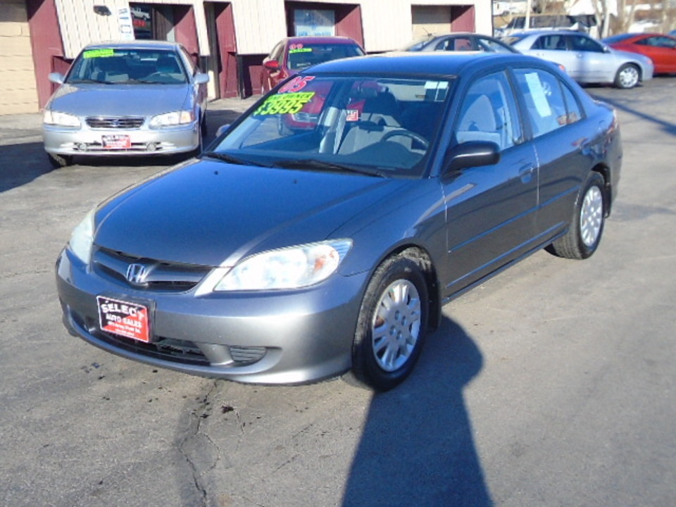 2005 Honda Civic LX  - 10326  - Select Auto Sales