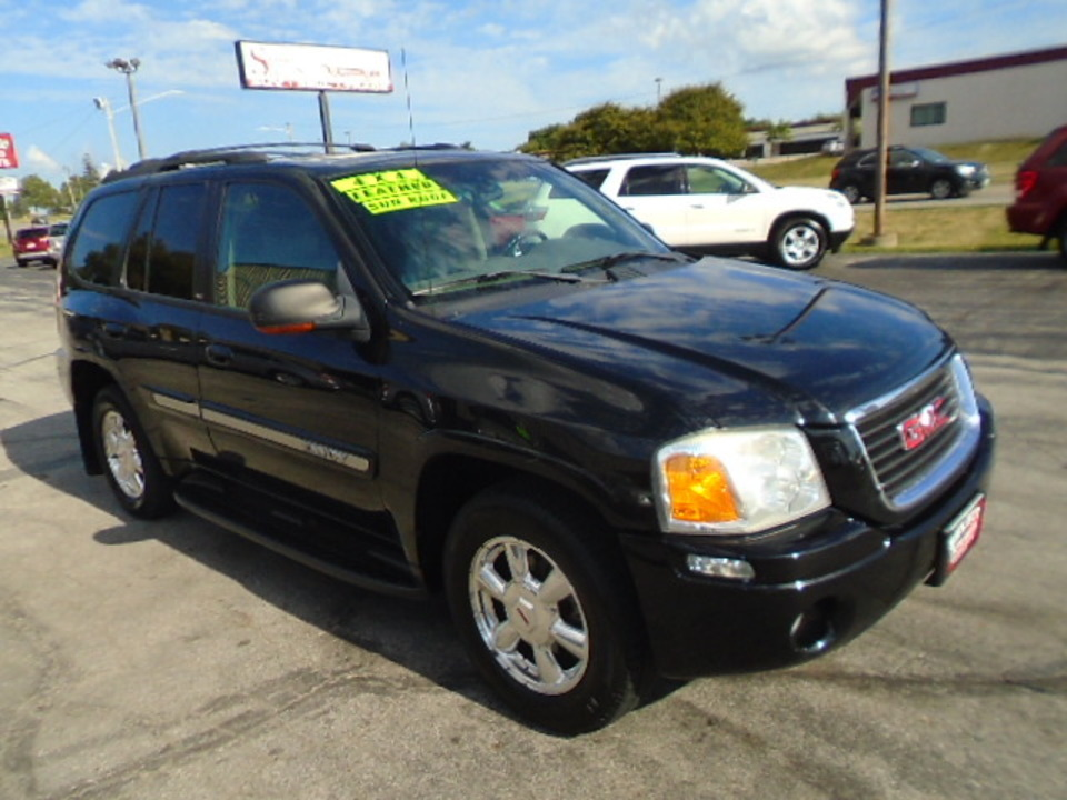 2003 GMC Envoy SLT 4X4  - 10387  - Select Auto Sales