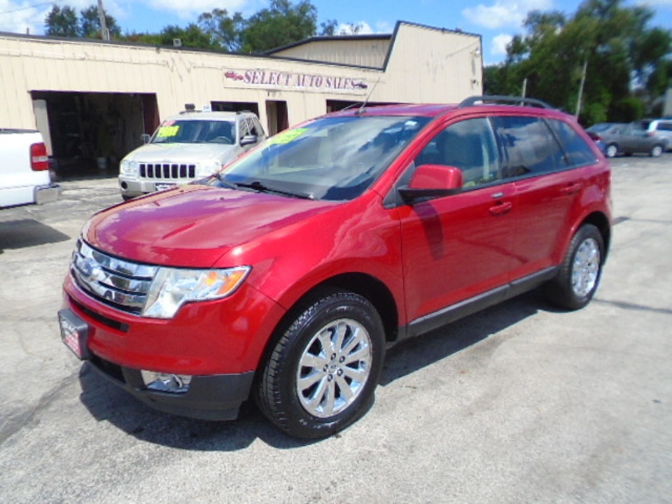 2010 Ford Edge SEL AWD  - 10385  - Select Auto Sales