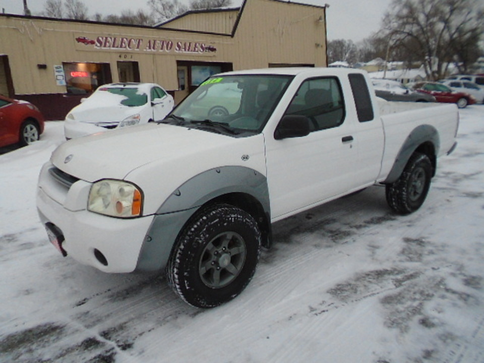 2004 Nissan Frontier 4WD XE, King Cab, 4X4  - 10309  - Select Auto Sales