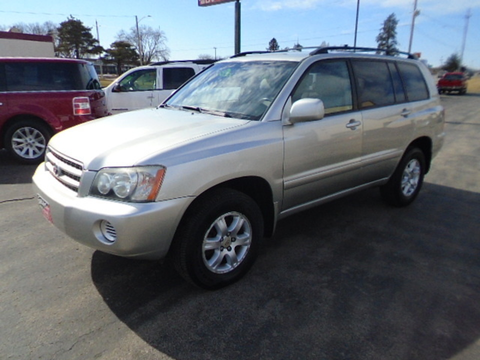 2003 Toyota Highlander V-6 4x4  - 10319  - Select Auto Sales