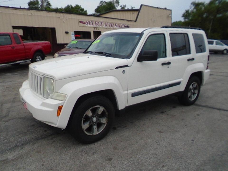 2008 Jeep Liberty Sport 4x4  - 10581  - Select Auto Sales