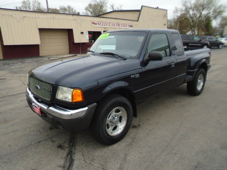2002 Ford Ranger Ranger Superab XLT 4X4  - 10515  - Select Auto Sales