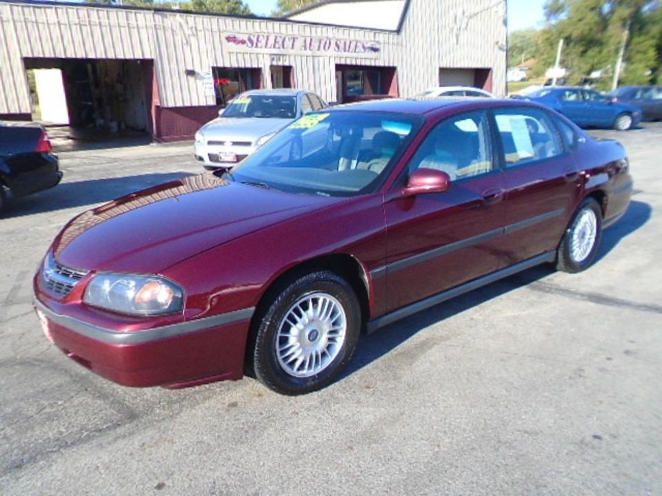 2000 Chevrolet Impala  - 10412  - Select Auto Sales