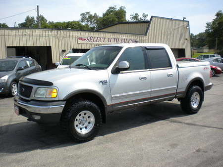 2002 Ford F-150 XLT Super Crew 4X4 FX-4 Off Road for Sale  - 10032  - Select Auto Sales