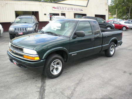 2003 Chevrolet S10 Extended Cab LS for Sale  - 10027  - Select Auto Sales