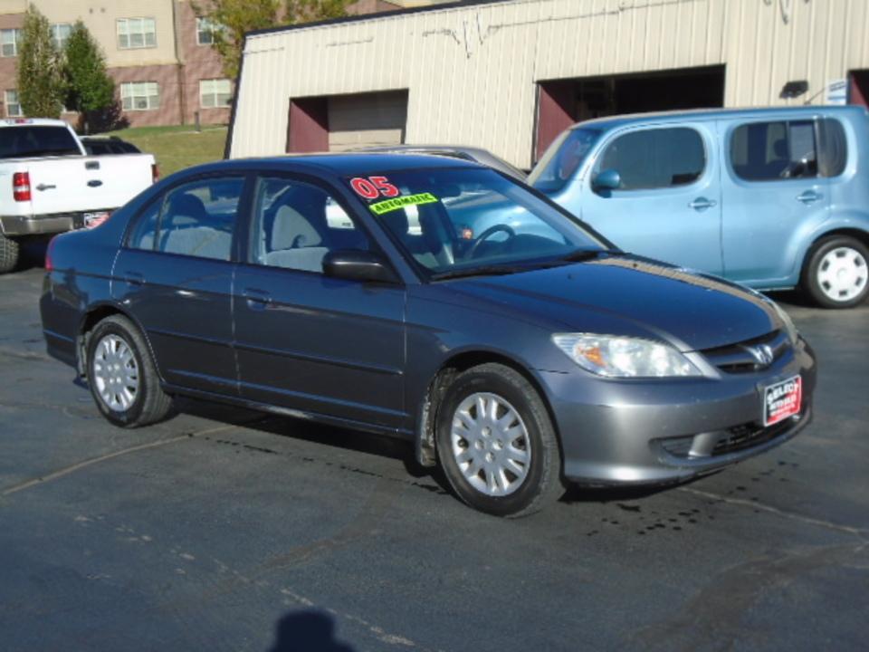 2005 Honda Civic LX  - 10626A  - Select Auto Sales