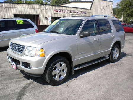 2004 Ford Explorer Limited 4x4 for Sale  - 10052  - Select Auto Sales