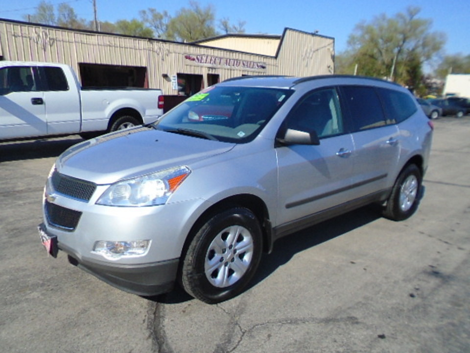 2010 Chevrolet Traverse AWD LS  - 10347  - Select Auto Sales
