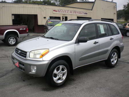 2002 Toyota Rav4 4WD for Sale  - 10071  - Select Auto Sales