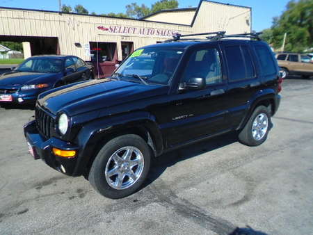 2003 Jeep Liberty Limited 4x4 for Sale  - 10082  - Select Auto Sales
