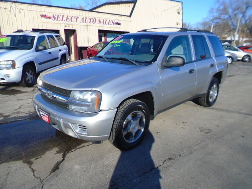 2007 Chevrolet TrailBlazer 4X4 LS  - 10306A  - Select Auto Sales