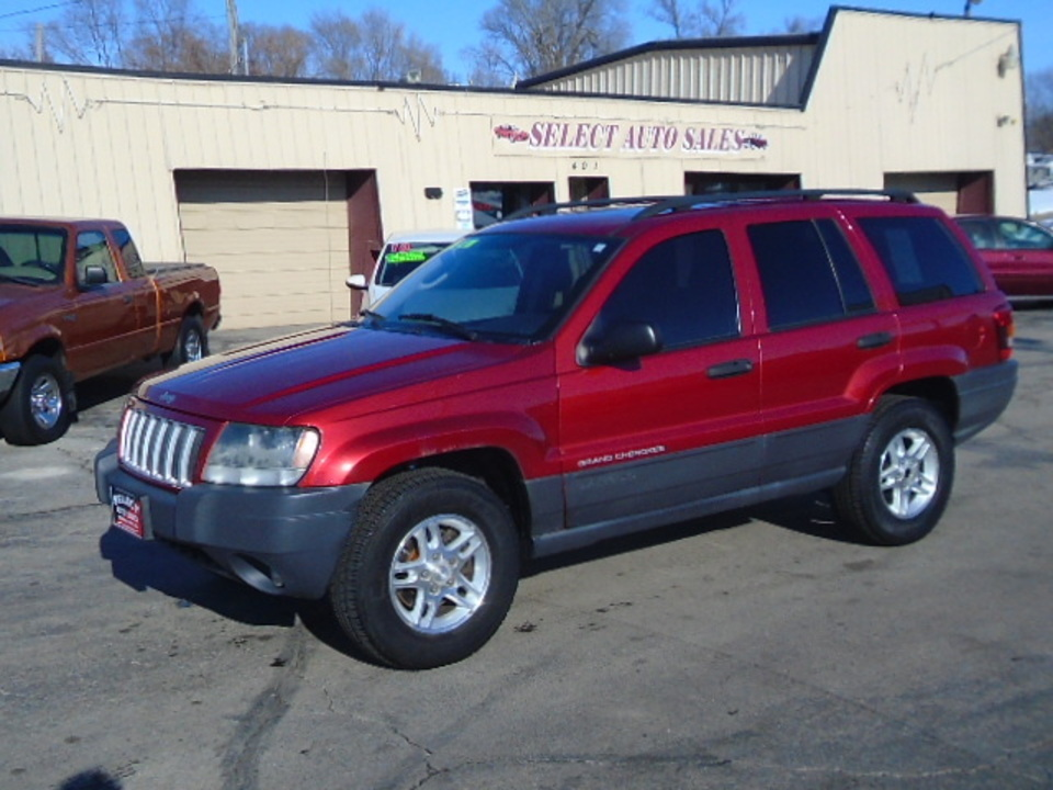 2004 Jeep Grand Cherokee 4X4 Laredo  - 10468  - Select Auto Sales