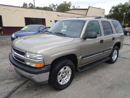 2002 Chevrolet Tahoe K-1500 4X4 LS for Sale  - 10257  - Select Auto Sales