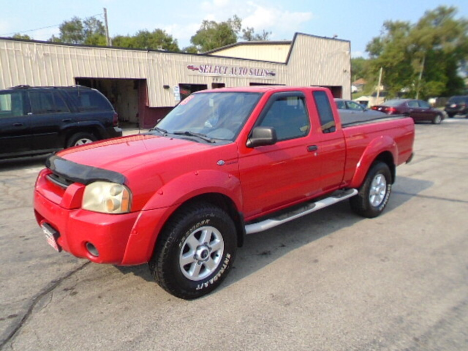 2003 Nissan Frontier 4WD 4X4 King Cab S/C  - 10579  - Select Auto Sales