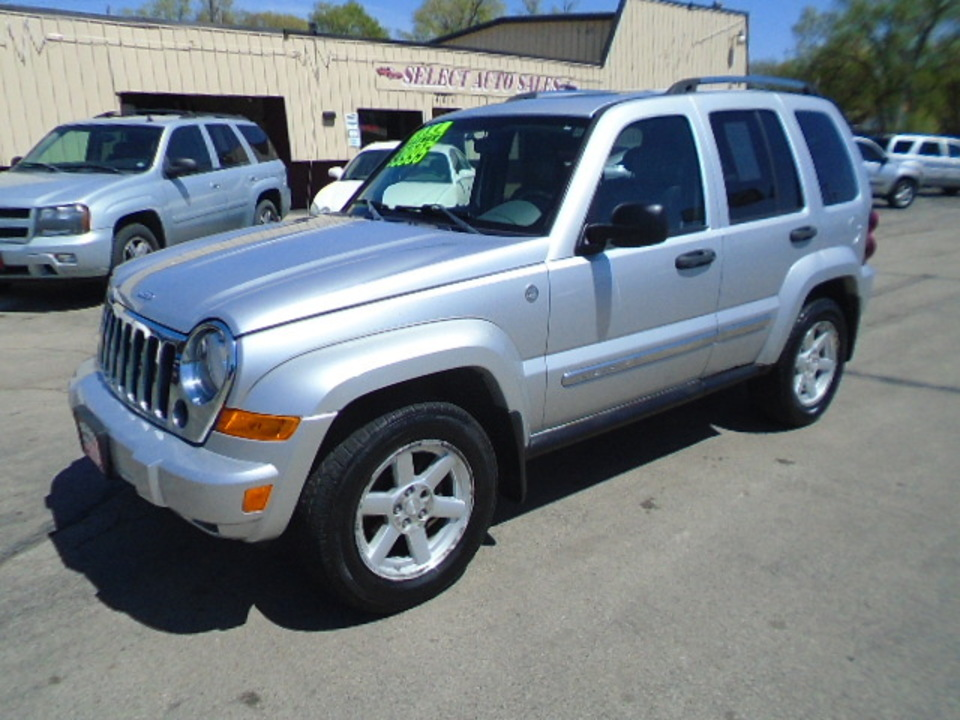 2005 Jeep Liberty Limited 4x4  - 10532  - Select Auto Sales