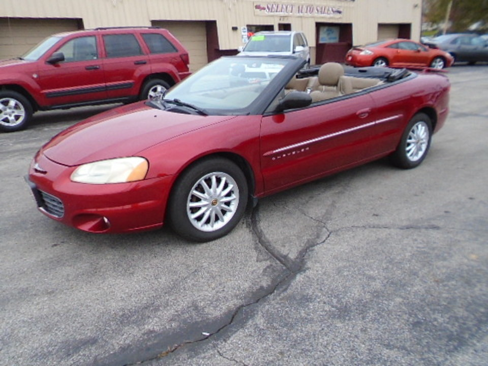 2001 Chrysler Sebring  - Select Auto Sales