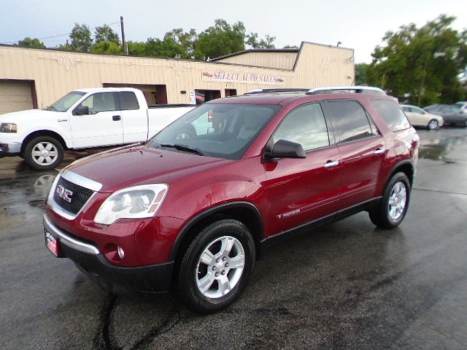 2008 GMC Acadia SLE  - 10374  - Select Auto Sales