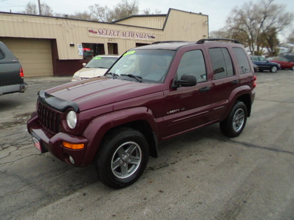 2002 Jeep Liberty 4X4, Limited  - 10285  - Select Auto Sales