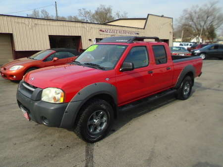 2002 Nissan Frontier Crew Cab XE for Sale  - 10177  - Select Auto Sales