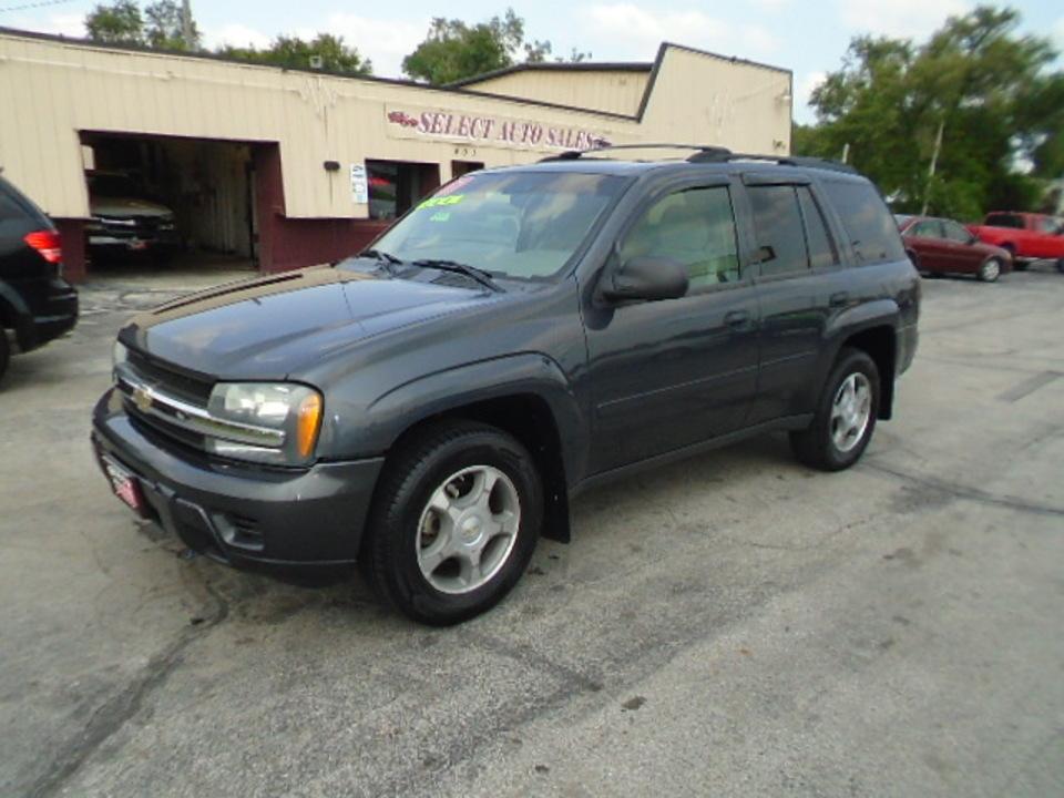 2007 Chevrolet TrailBlazer LS 4X4  - 10586  - Select Auto Sales