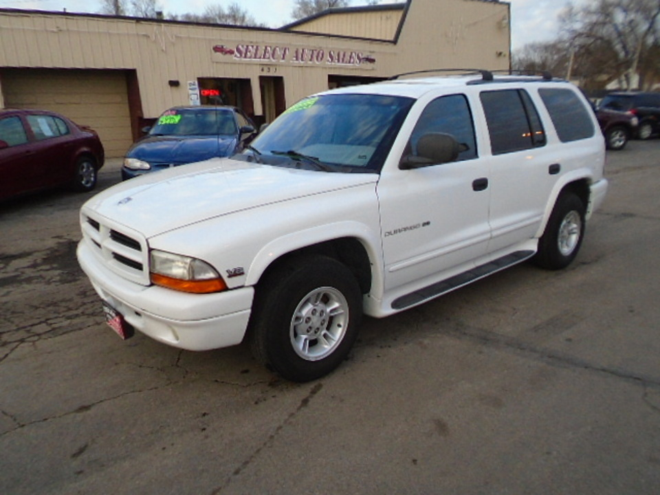 2000 Dodge Durango SLT  - 10492  - Select Auto Sales