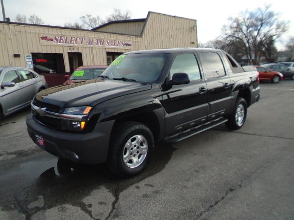 2003 Chevrolet Avalanche Z-71 4X4  - 10326A  - Select Auto Sales