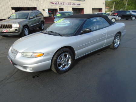 2000 Chrysler Sebring Cpe Convertible Limited for Sale  - 10625  - Select Auto Sales