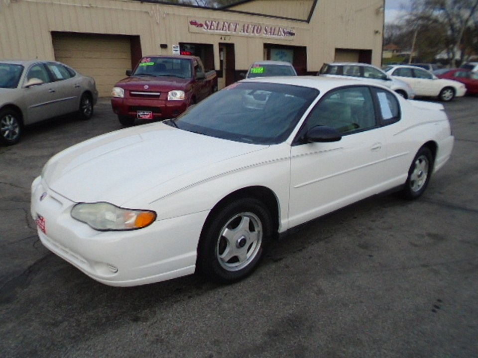 2004 Chevrolet Monte Carlo  - Select Auto Sales