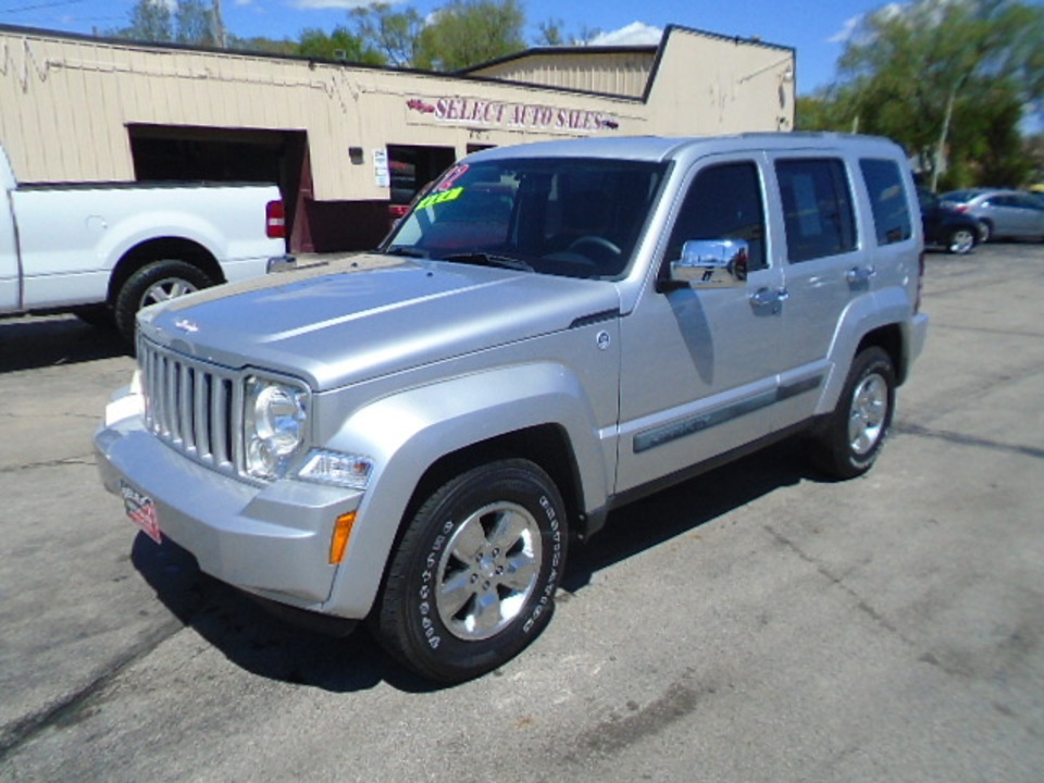 2012 Jeep Liberty 4X4 Sport  - 10350  - Select Auto Sales